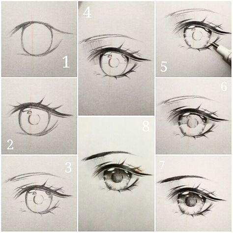 3 358 Curtidas 24 Comentarios Ivy S Diary Ivyesre No Instagram Anime Eye Drawing Tutorial Step By Anime Eye Drawing Eye Drawing Tutorials Eye Drawing