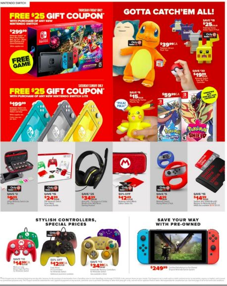 Gamestop After Christmas 20 Sale Offers Deals On Thrilling Games Black Friday Ads Black Friday Gift Black Friday