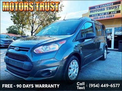 2017 Ford Transit Connect Wagon Xlt Lwb W Rear Liftgate Gray
