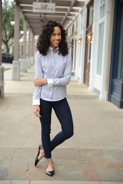 Casual wear in my #fabfound jeans and designer flats from @marshalls #fashion #style