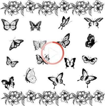 Tattoo Design Butterfly Ideas 17 Ideas In 2020 Small Butterfly Tattoo Butterfly Tattoo Meaning Tattoos