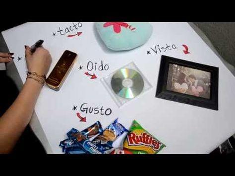 REGALOS PARA TU NOVIO ❤ LA CAJA DE LOS 5 SENTIDOS - YouTube