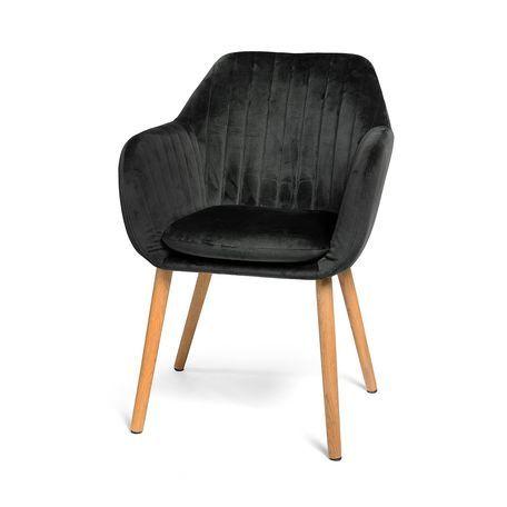 Samtstuhl 55x76x57cm Altrosa Stuhle Armlehnen Kleiner Beistelltisch