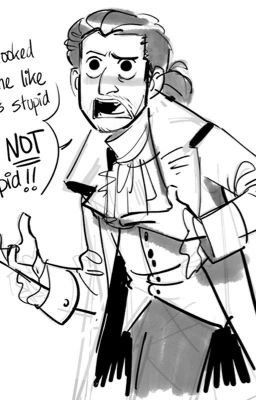 Male reader x Hamilton - Chapter 4- Jefferson is a dick