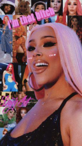 Dojacat Wallpapers Iphonewallpaper In 2020 Bad Girl Aesthetic Edgy Wallpaper Celebrity Wallpapers