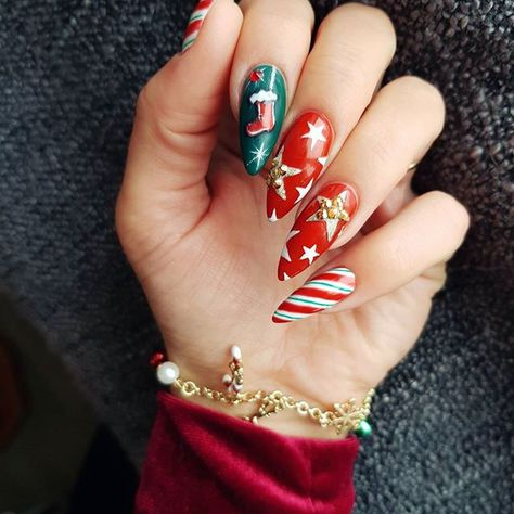 christmasnails #christmasnails