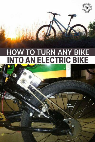 How To Turn Any Bike Into An Electric Bike Electric Bike
