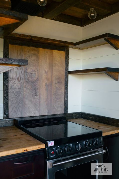 The Silhouette From Wind River Tiny Homes Outdoor Kitchen Outdoor Kitchen Design Tiny House On Wheels