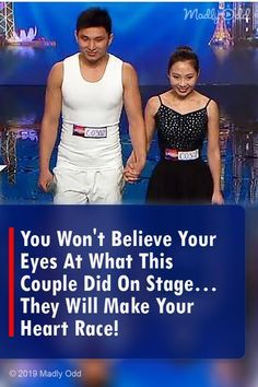 You Won't Believe Your Eyes At What This Couple Did On Stage… They Will Make Your Heart Race!