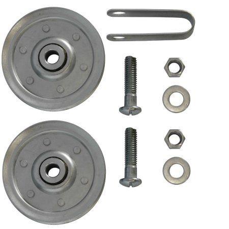 Garage Door Extension Spring 3 Pulley Kit For 7 Or 8 Door