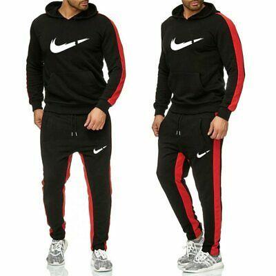 2020 Nike Sport New Set Casual Tracksuit Hoodie & Pants Men ...