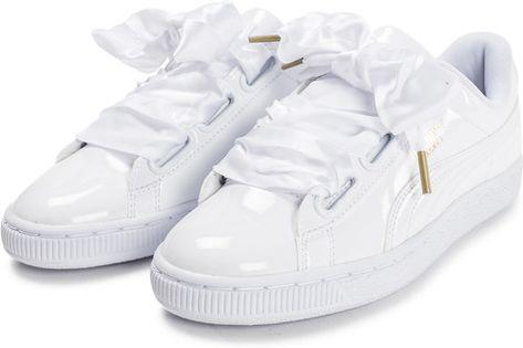 puma chaussure blanche femme