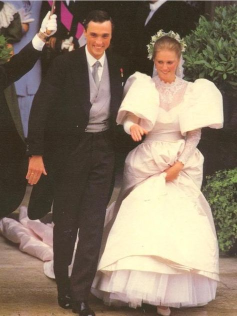 Abiti Da Sposa 1984.Princess Astrid Married Lorenz Archduke Of Austria Este In