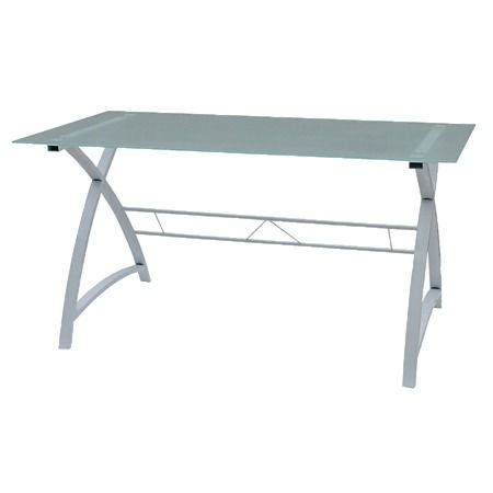 Solano Office Glass Top Desk Alternative The Warehouse Glass