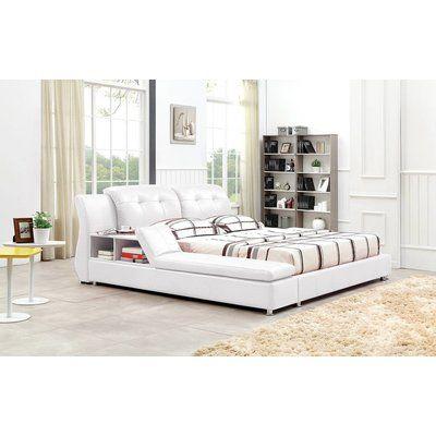 Orren Ellis Muski Upholstered Platform Bed In 2021 Modern Platform Bed Adjustable Beds Upholstered Platform Bed