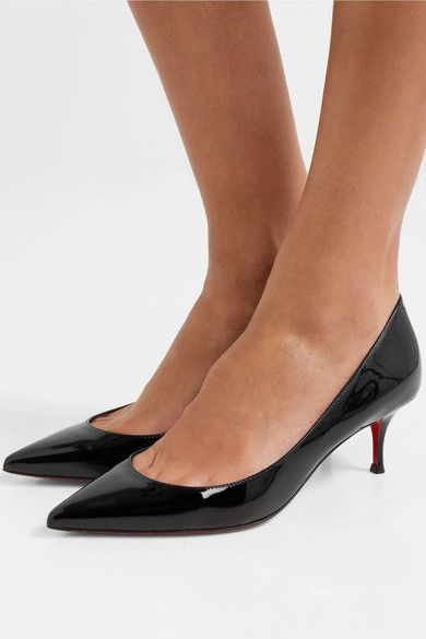 detailed look 75c97 49047 Christian Louboutin - Pigalle Follies 55 Patent-leather ...
