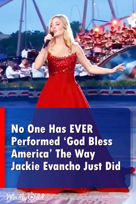 No One Has EVER Performed 'God Bless America' The Way Jackie Evancho Just Did