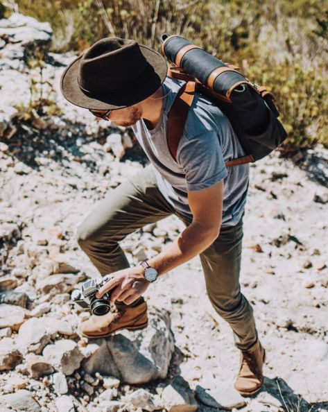 The best view comes after the hardest climb. Men's outfit & style  #ThingstoWear   Mountain man style, Mens outdoor fashion, Mens fashion  rugged