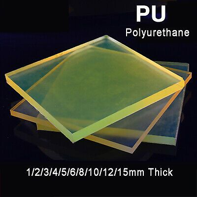 Ad Ebay Square Polyurethane Sheet Pu Board Damping Plate Pad Elastic Mat 1mm 15mm Thick Polyurethane Sheet Flexible Tubing Polyurethane