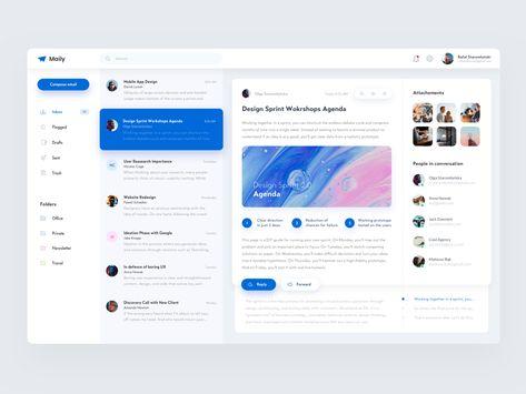 Maily - Mail Client by Rafał Staromłyński