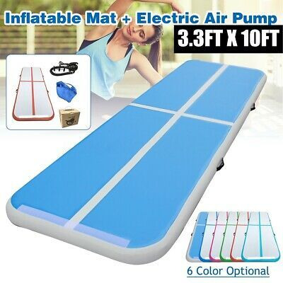 Ad Ebay Link 3 3ft X 10ft Inflatable Air Track Floor Home Gymnastics Tumbling Mat Fitness Gym Gymnastics Tumbling Mat Tumbling Gymnastics Tumble Mats