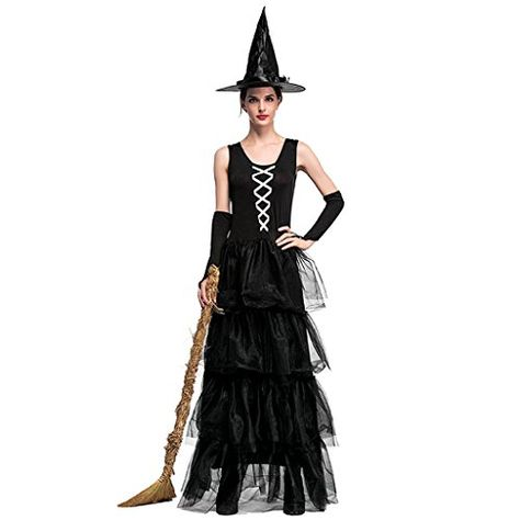 Interesting message Black witch costume much