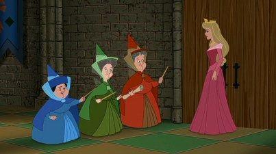 Sleeping Beauty Good Fairies Disney Princess Enchanted Tales