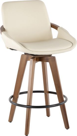 Counter Height Stool Fabric Swivel Back Wood Kitchen French Seat Rustic Pub Bar Cortesihome Count Stools For Kitchen Island Rustic Bar Stools Wood Bar Stools