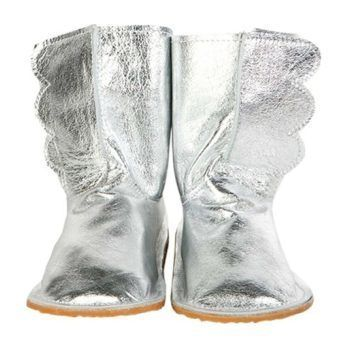 Chickpea Kids Wing Boots (Silver, Size