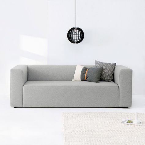 Sofas with Nordic Simplicity by nor #MONOQI SEATING Pinterest