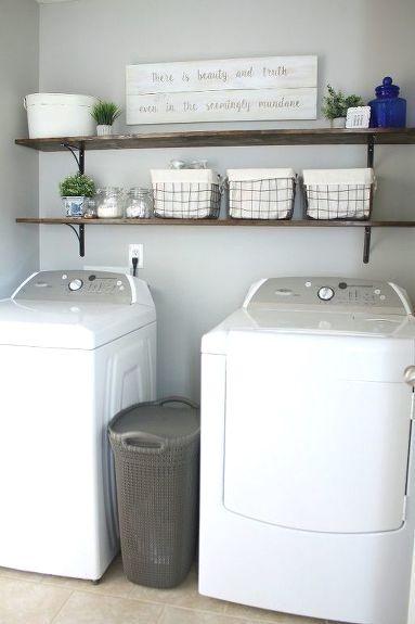 Diy Laundry Room Shelves Laundry Room Diy Diy Laundry Room Shelves Laundry Room Shelves