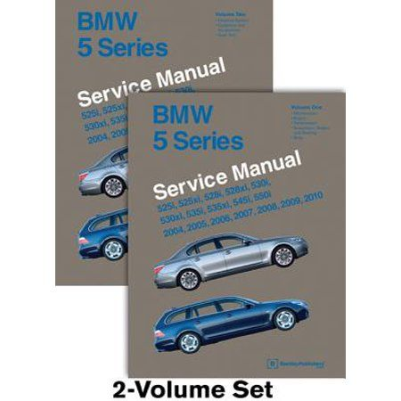 Bmw 5 Series E60 E61 Service Manual 2004 2005 2006 2007 2008 2009 2010 525i 525xi 528i 528xi 530i 530xi 535i 535xi 545i 550i Walmart Com Bmw 5 Series Bmw Repair And Maintenance