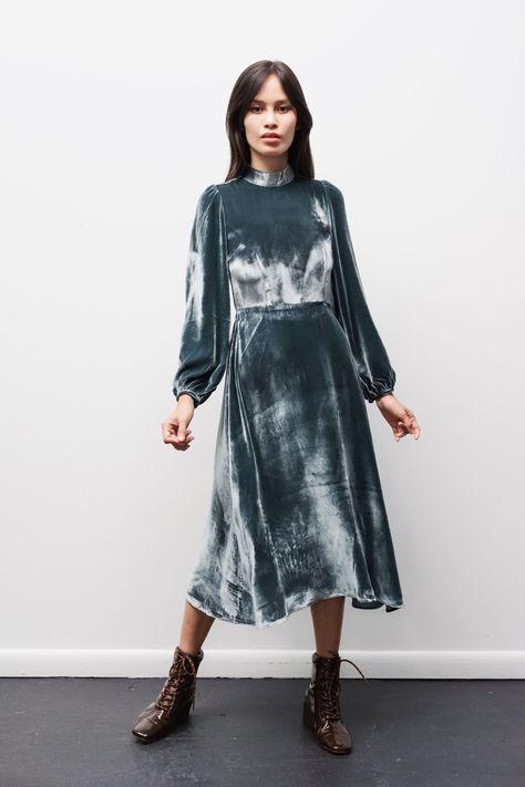 Duke Dress in Teal - L / Teal
