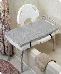Comfort Company Foam Mesh Bath Cushions 25 X 16 Transfer Bench