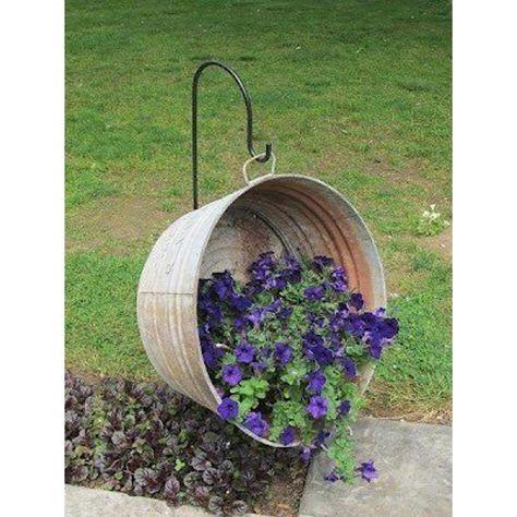 Pot Jardin, Cool Ideas, Creative Ideas, Diy Ideas, Decor Ideas, Creative Decor, Yard Art, Lawn And Garden, Spring Garden
