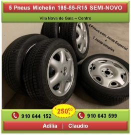 Vendo 5 Pneus Michelin Com Jante Original Astra 195 55 R15 Car Wheel Car Wheel