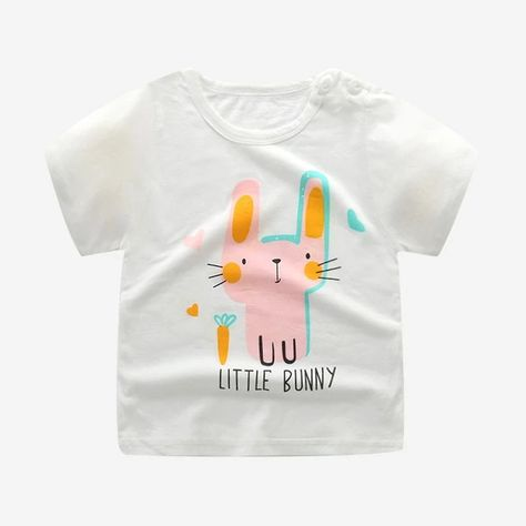 Fashion Cotton Spaceship Boys Girls T Shirts Kids Kids Cartoon Print T Shirts Baby Child Tops Tee 6M 7T
