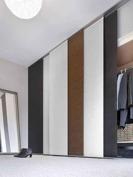 Schiebegardine Flachenvorhang Naturoptik Gardinia Klettband 1 Stuck Online Kaufen In 2020 Schiebegardine Gardinen Und Kleiderschrank Mit Vorhang