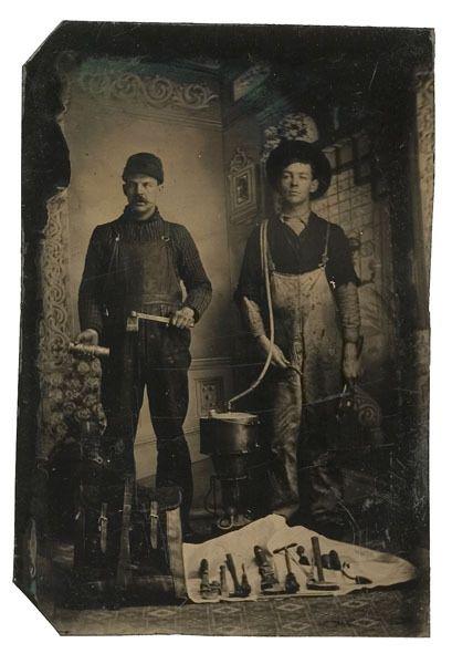 dating vanha tintypes
