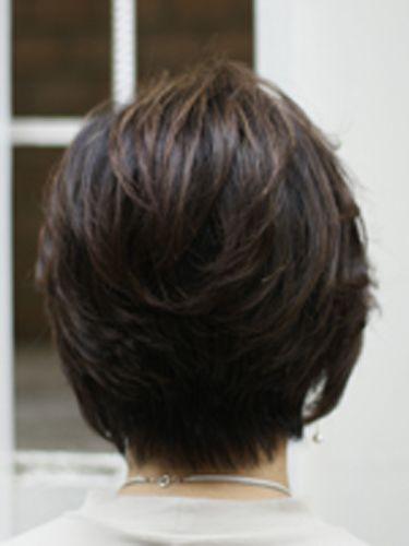 トップにボリューム50代60代髪型ヘアスタイル 40代50代60代髪型ショートボブスタイルが得意な美容師石川智 60代 髪型 髪型 ショートボブ ミセス ヘアスタイル