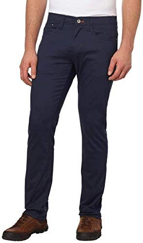 Buy Weatherproof Vintage Men S 5 Pocket Twill Pant Navy 38 X 34