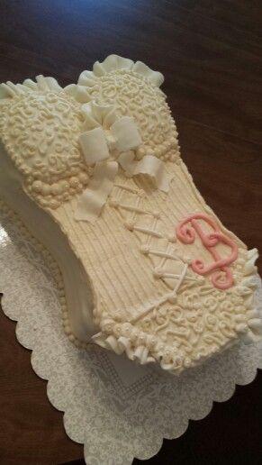 Bridal Lingerie Shower Cake!