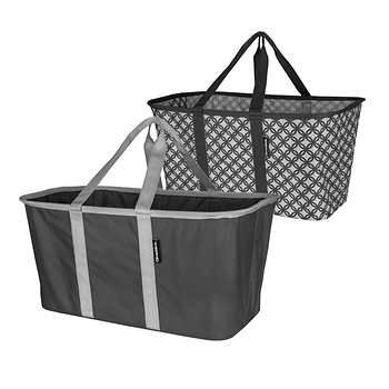 Clevermade 2 Pack Collapsible Laundry Basket Tote In 2020