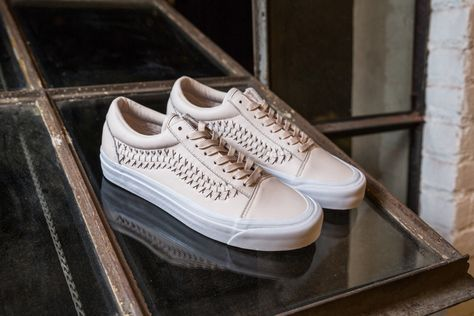 8a954d916a Vans Gives Four of Its Signature Shoes a Woven Leather Upgrade