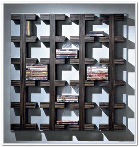 14 Awesome Wall Mounted DVD Storage Units Digital Photo Ideas