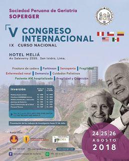 La Visión Gerontològica V Congreso Internacional De La Sociedad Peruana De Flickr Photo Cards