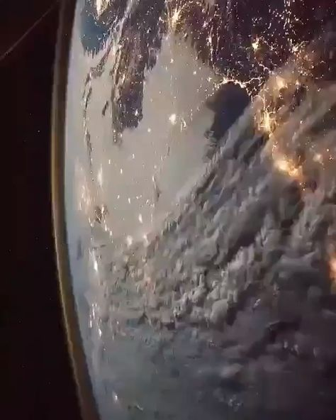 The Earth as seen from the international space station
