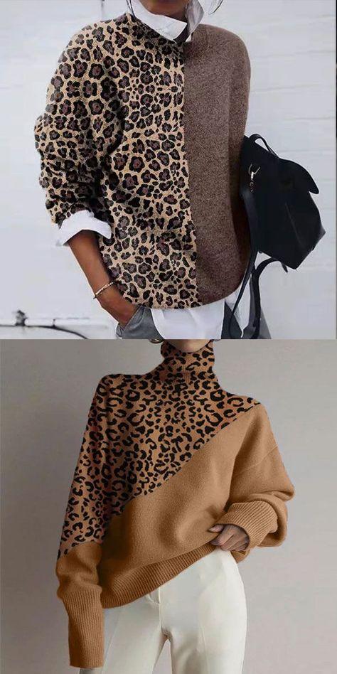 Women Printed Sweater - #printed #sweater #Women