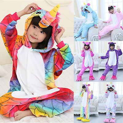 Children Adult Unicorn Mermaid Bodysuit Pyjamas Animal onepiece Costume Cosplay