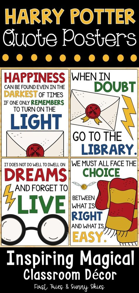 Harry Potter Quotes Posters